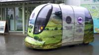 A self-driving pod