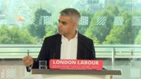 Labour's London Mayor candidate Sadiq Khan