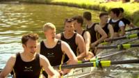 Crew at Cambridge's Bumps rowing race