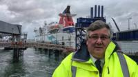 Alan Williams, Stena Line, Holyhead Port