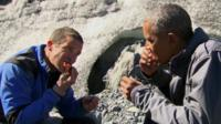 Bear Grylls and President Obama