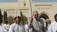 Prince Charles does sword dance