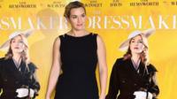 Kate Winslet at a screening of The Dressmaker