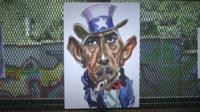 Cartoon of Obama