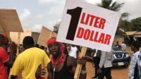Ghana dey protest fuel price increase