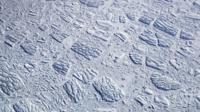 Крупный ледник в Антарктиде