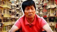 Hong Kong cardboard granny