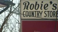Robie's Country Store sign