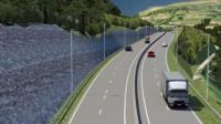 A video fly-through of how the Heads of the Valleys road will look