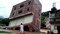 Building collapsing