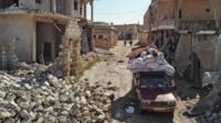 Idlib rubble