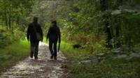 Image of a couple walking