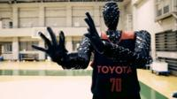 Robot basketballer with 100% precision