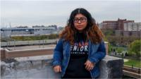 Ana Carmona was quarantined with her undocumented parents in NYC, when she got some big news.