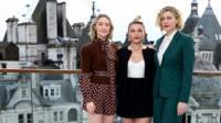 Saoirse Ronan, Florence Pugh and Greta Gerwig