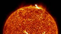 Nasa picture of the Sun