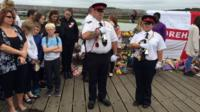 Minute's silence for Shoreham victims