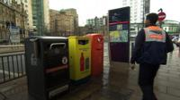 Recycling bins in Leeds
