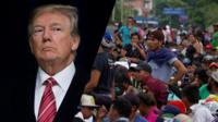 Trump and the migrant caravan