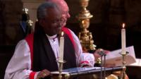 Rev Michael Curry delivers sermon