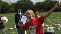 105-year-old Hidekichi Miyazak, 'The Golden Bolt'