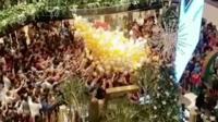 Sydney balloon drop