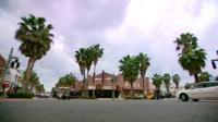 Miami street scene