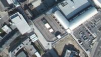 The unused car park in Farnborough