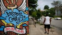 Freddie Gray mural in Baltimore