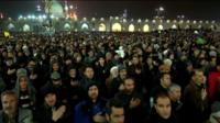 Qasem Soleimani mourners