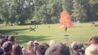 Explosions at Audley End House