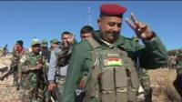 Kurdish forces enter Sinjar