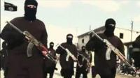Men with guns in Islamic State propaganda video
