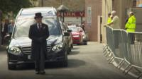 Jimmy McIlroy funeral