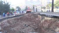 Algiers sinkhole