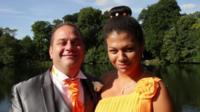 Aimee Gardiner and her uncle, Chris Stevens