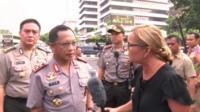 Insp Gen Tito Karnavian in Jakarta