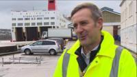 Ian Davies, trade director for Stena Line