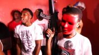 WARNING: Contains very strong language. Killings in Chicago have hit a 20-year high as the grim toll for homicides passed 500. The BBC explores a world where gangs and guns rule.
