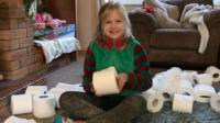 Maggie has asked her mother for toilet roll for Christmas