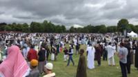 Eid party, Small Heath, Birmingham