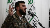 Zahran Alloush, the leader of Jaysh al-Islam