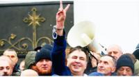 В Киеве пытались задержать Саакашвили