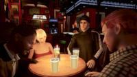 A virtual pub