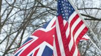 UK and US flag