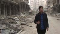 Lyse Doucet in Aleppo