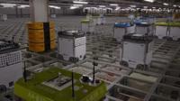 The BBC visits online grocery retailer Ocado's factory