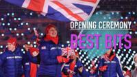 Opening ceremony best bits