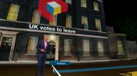 Jeremy Vine with Downing Street VR count