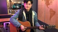 Chinese student Renwei Deng